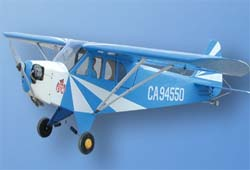 WORLD MODEL Clipped Wing CUB 1/4 (ARF)