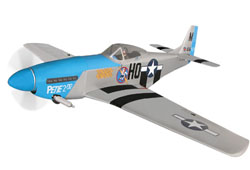 World Model  P-51 Mustang 60 with Electric Retracts - 1640mm