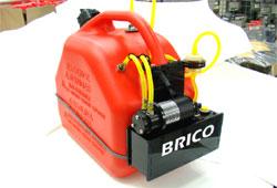 Brico 가솔린 자동 연료통 10L(글로우 겸용) version-4(스테인레스)