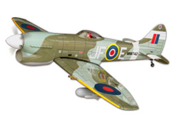World Model Hawker Tempest MK V  -  1450mm