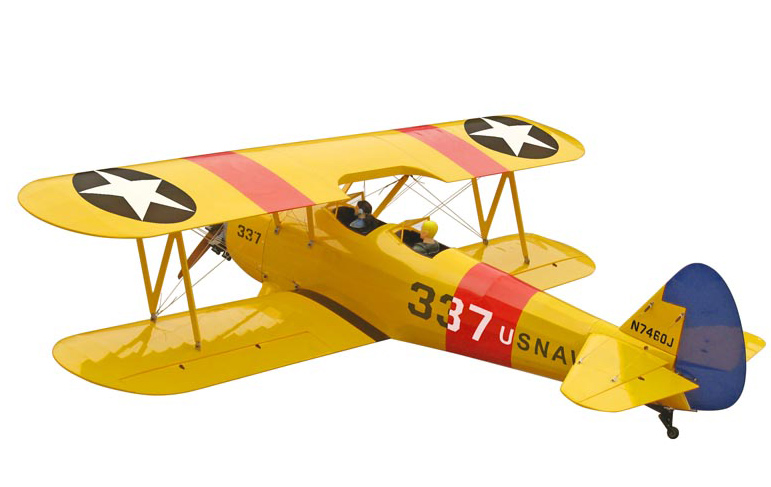 World Model  30% Stearman PT-17  100cc - 2950mm