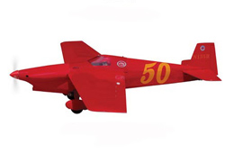 World Model Scarlet Screamer Racing - 1320mm