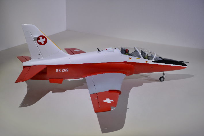 Phoenix BAE Hawk Scale 1/7.5,  EDF 90mm(1300mm) - Ư����ǰ