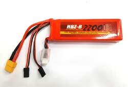 HBZ-B 7.2v 2200mAh 2S 35C Max 70C 수신기 배터리