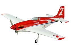 World Model  P-51D Strega 40 (Red/White) with Electric Retracts - 1290mm