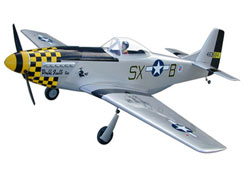 "WORLD MODEL P- 51 Mustang GS 80"" (S2 - Double Trouble) - 2030mm"