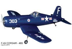 WORLD MODEL F4U Corsair - 46 (1420mm)