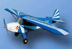 World Model  Clipped Wing Cub 48 (Red, BlueColor)