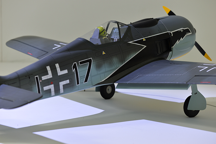 Phoenix FW-190 FOCKE WULF GP/EP 16% Size .120 - 20cc - 1720mm