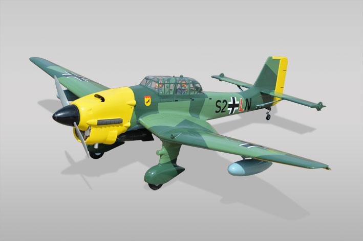 Phoenix Stuka Ju87 GP/EP SCALE 1:7 Size 1.20/20cc