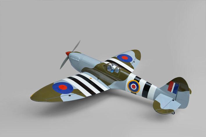 Phoenix Spitfire .91/15cc  (1550mm) 전동리트렉터 포함
