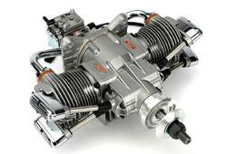 Saito 가솔린 FG-61TS w/Muffler/Ignition