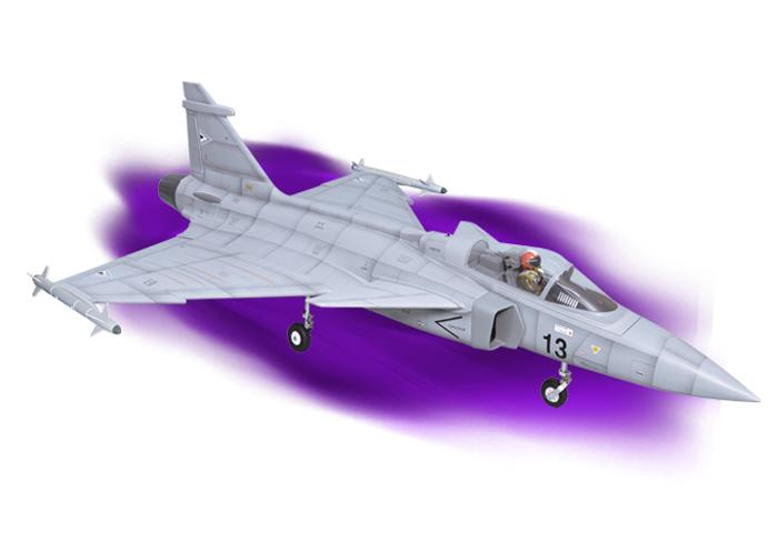 Phoenix  Gripen  EDF 90mm ARF  1/7 Scale (1084mm) - 특가상품