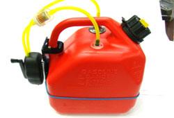 Brico 가솔린 수동 연료통 5.0L(글로우 겸용)